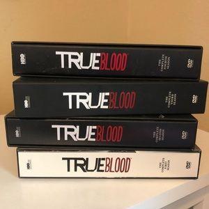 First 4 seasons of True Blood